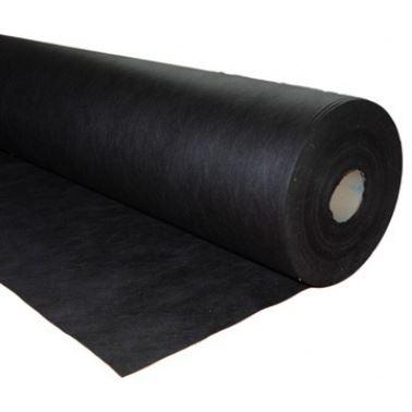 Netkaná textílie 50g/m2 - černý - šíře 160 cm