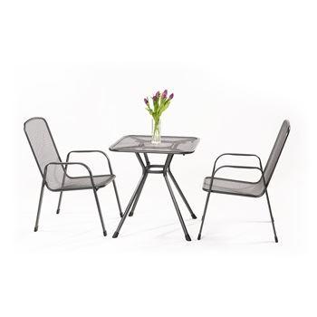 Sabi 2+ - sestava nábytku z tahokovu (2x židle Savoy Basic, 1x stůl Tavio 70)