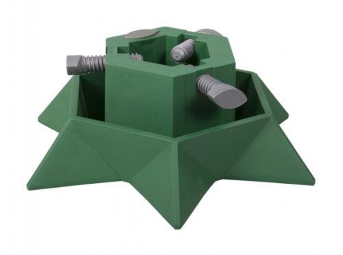 Stojan pod vánoční stromek STAR d40cm/zelený/v13cm