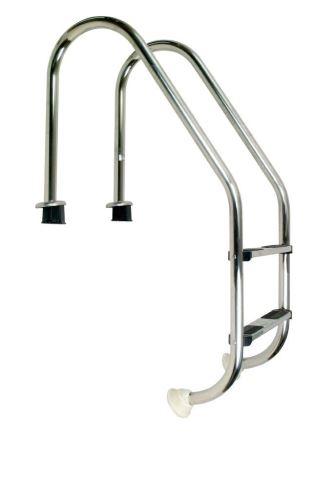 Žebřík nerez Standard s pouzdrem 2 stupňový, AISI 304