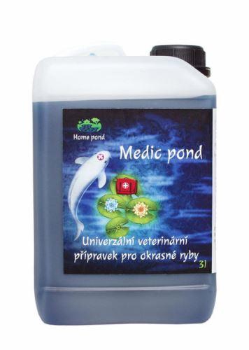 Medic Pond 3l univerzální léčivo pro ryby
