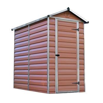 Skylight 4x6 hnědý - zahradní domek