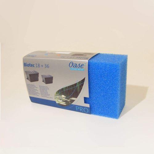 Filtrační vložka pro Oase Biotec 18/36 modrá