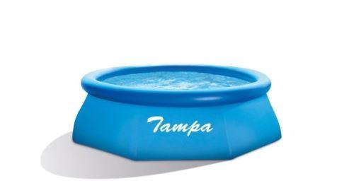 TAMPA bazén kruh 2,44x0,76m, bez filtrace a příslušenství