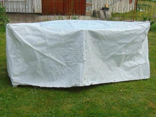 kryt na zahradní nábytek kulatý 2x2m