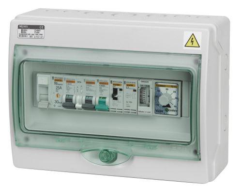 Automatické ovládání pro filtraci/výměník/světlo/protiproud - F3VSP3