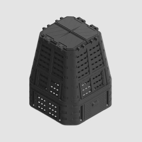 kompostér PROMO 650l/plast/černý