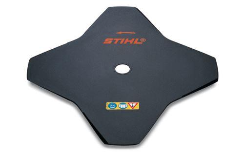 STIHL - žací list na trávu čtyři břity, 230mm, otvor 25,4mm