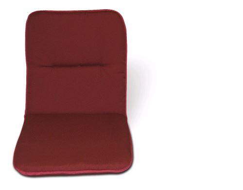 Sedák 100x50x6-Vínový