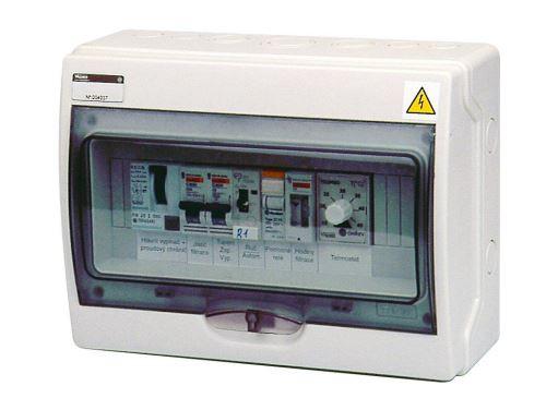 Automatické ovládání pro filtraci/výměník - F1V