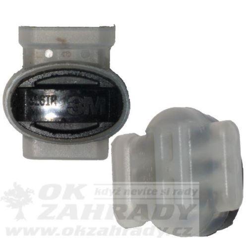 Vlhkotěsné konektory IR 1,5 mm2 dvoudílné, malé, pro spojení nejvýše 2-3 vodičů