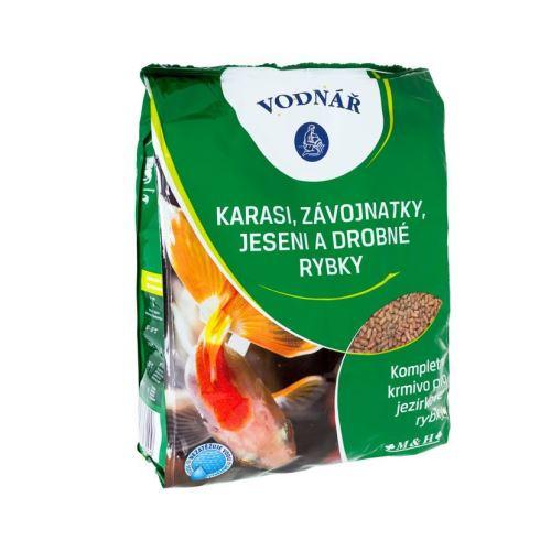 VODNÁŘ - KARASI, závojnatky, drobné rybky 0,5kg