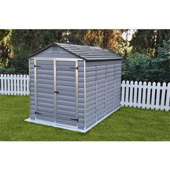 Skylight 6x10 šedý - zahradní domek