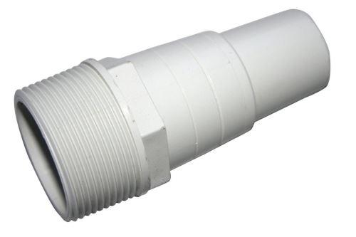 """PVC tvarovka - Trn hadicový 32/38 x 1 1/2"""", ABS"""