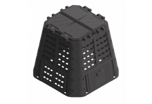 kompostér PROMO 420l/plast/černý