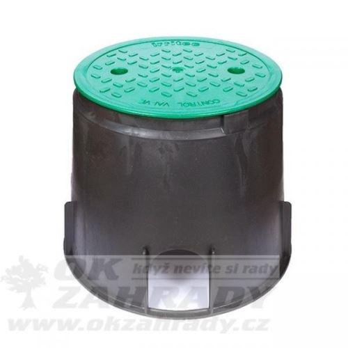 Kruhová šachtice pro ventil LARGE, v.25 cm, víko 23,5 cm