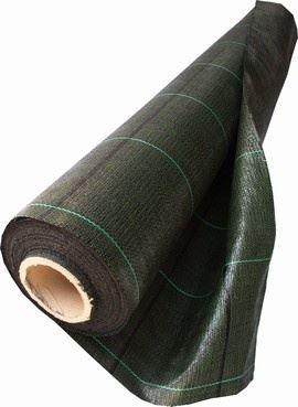 Tkaná textilie PPH 165cm černá celá role