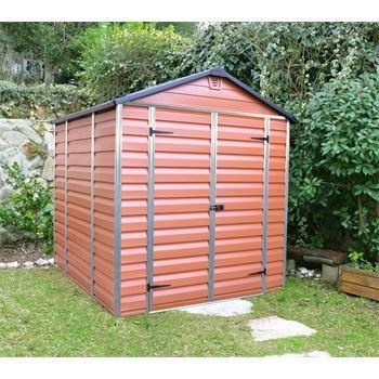 Skylight 6x8 hnědý - zahradní domek